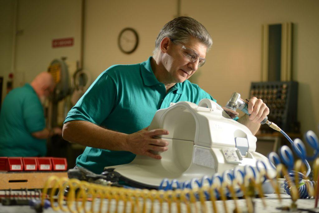 Mechanical Repair of an MRI Coil
