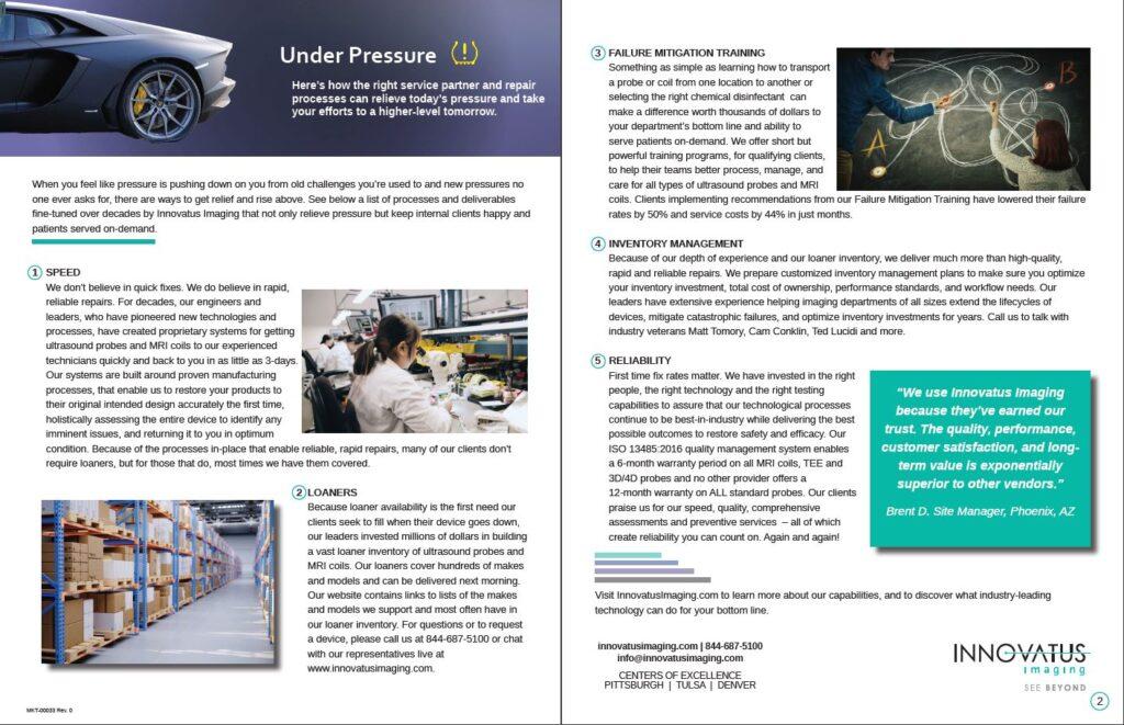 Photo of Under Pressure Whitepaper